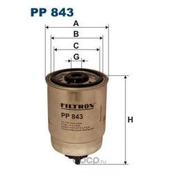 Фильтр топливный Filtron (Filtron) PP843