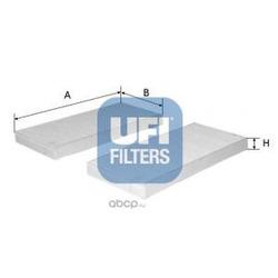 Фильтр, воздух во внутренном пространстве (UFI) 5310800