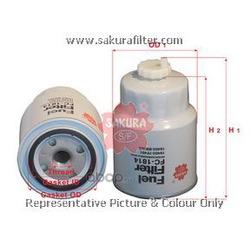 Фильтр топливный (Sakura) FC1814