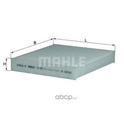 Фильтр, воздух во внутренном пространстве (Mahle/Knecht) LA155