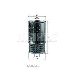 Масляный фильтр (Mahle/Knecht) OX38D