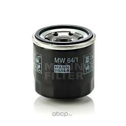 Фильтр масляный для мотоциклов (MANN-FILTER) MW641