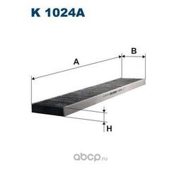 Фильтр салонный (угольный) (Filtron) K1024A