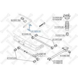 Тяга / стойка, стабилизатор (Stellox) 5653032SX