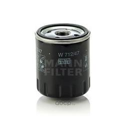 Масляный фильтр (MANN-FILTER) W71247