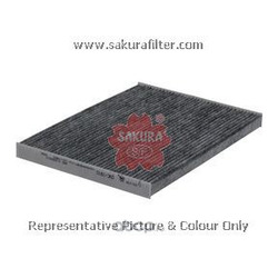 Фильтр салона угольный (Sakura) CAC1810