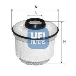 Топливный фильтр (UFI) 2604500