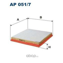 Фильтр воздушный Filtron (Filtron) AP0517
