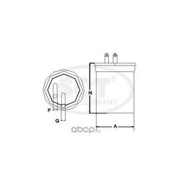 Топливный фильтр (SCT) ST768