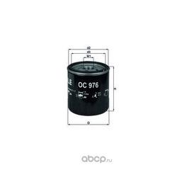 Масляный фильтр (Mahle/Knecht) OC976