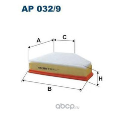 Фильтр воздушный Filtron (Filtron) AP0329
