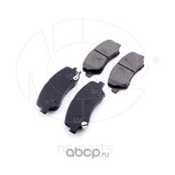 Колодки тормозные передние HYUNDAI Solaris (NSP) NSP02581011RA00