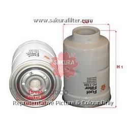 Фильтр топливный (Sakura) FC1104