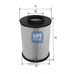 Воздушный фильтр (UFI) 2767500