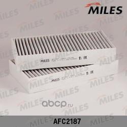 Фильтр салона MB W164/W251 угольный (упак.2шт.) (Miles) AFC2187