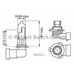 Лампа (Bosch) 1987302154