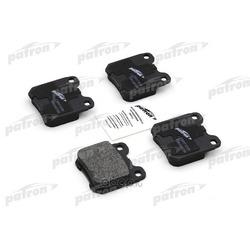 Колодки тормозные дисковые задние (PATRON) PBP1117