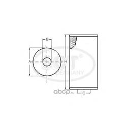 Топливный фильтр (SCT) SC7037P