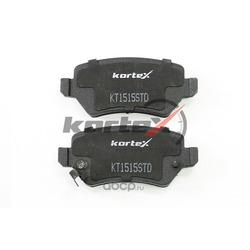 Комплект тормозных колодок, дисковый тормоз (KORTEX) KT1515STD