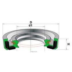 Сальник рулевой рейки (Motorherz) HA0235