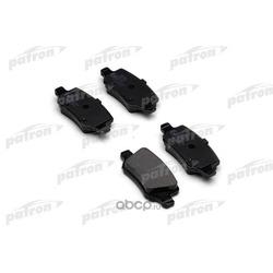 Колодки тормозные дисковые задн MERCEDES-BENZ: A-CLASS 97-04, A-CLASS 04-, B-CLASS 05-, VANEO 02- (PATRON) PBP1782