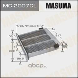 Фильтр салонный (Masuma) MC2007CL
