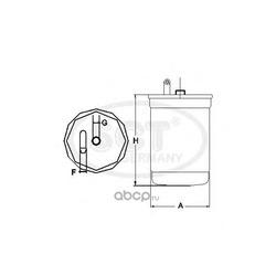 Топливный фильтр (SCT) ST6061
