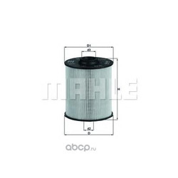 Топливный фильтр (Mahle/Knecht) KX70D