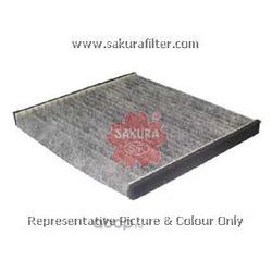 Фильтр салона угольный (Sakura) CAC1102