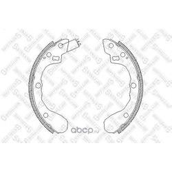 Комплект тормозных колодок (Stellox) 071101SX