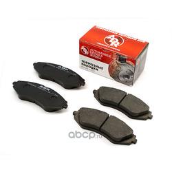 Колодки тормозные передние DAEWOO Nexia V16 R14, CHEVROLET Lacetti, Nubira OEM 96391891 (ADR) ADR290611