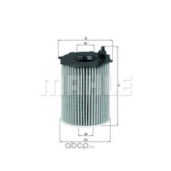 Масляный фильтр (Mahle/Knecht) OX1712D
