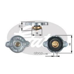 Крышка радиатора (Gates) RC124