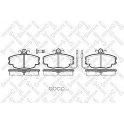 Комплект тормозных колодок, дисковый тормоз (Stellox) 152032SX