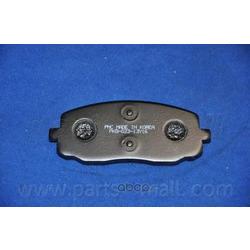 Комплект тормозных колодок (Parts-Mall) PKB023