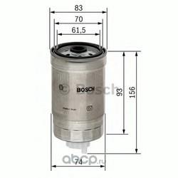 Топливный фильтр (Bosch) 1457434106
