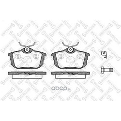 Комплект тормозных колодок (Stellox) 616002BSX