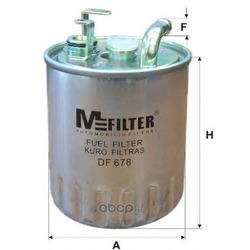 Фильтр топливный (M-Filter) DF678
