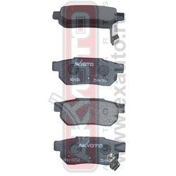 Колодки тормозные дисковые задние (AKYOTO) AKD8206