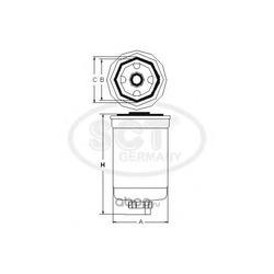 Топливный фильтр (SCT) ST355