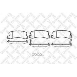 Комплект тормозных колодок (Stellox) 225022SX