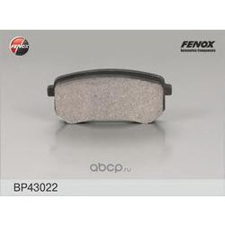 Комплект тормозных колодок, дисковый тормоз (FENOX) BP43022