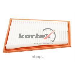 Фильтр воздушный, комплект из двух фильтров (KORTEX) KA0182