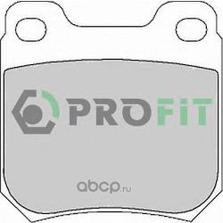 Комплект тормозных колодок (PROFIT) 50001117