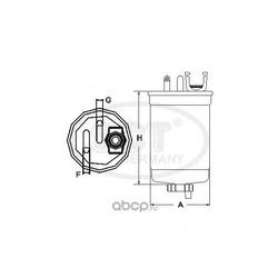 Топливный фильтр (SCT) ST6080
