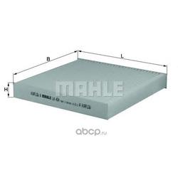 Фильтр, воздух во внутренном пространстве (Mahle/Knecht) LA424