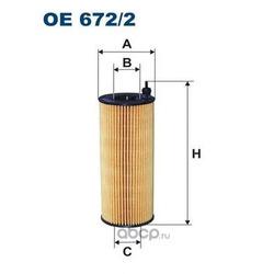 Фильтр масляный Filtron (Filtron) OE6722