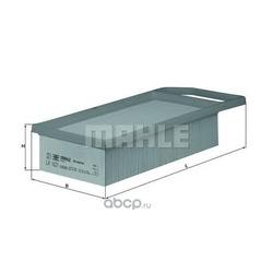 Воздушный фильтр (Mahle/Knecht) LX1621