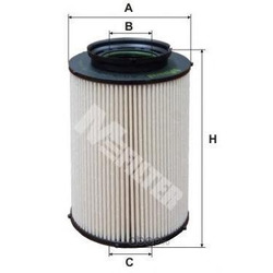 Фильтр топливный (M-Filter) DE3124