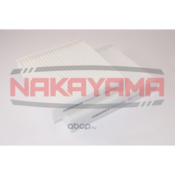 Фильтр салона комплект PEUGEOT 207 1.4/1.6/HDI 06- (NAKAYAMA) FC117NY